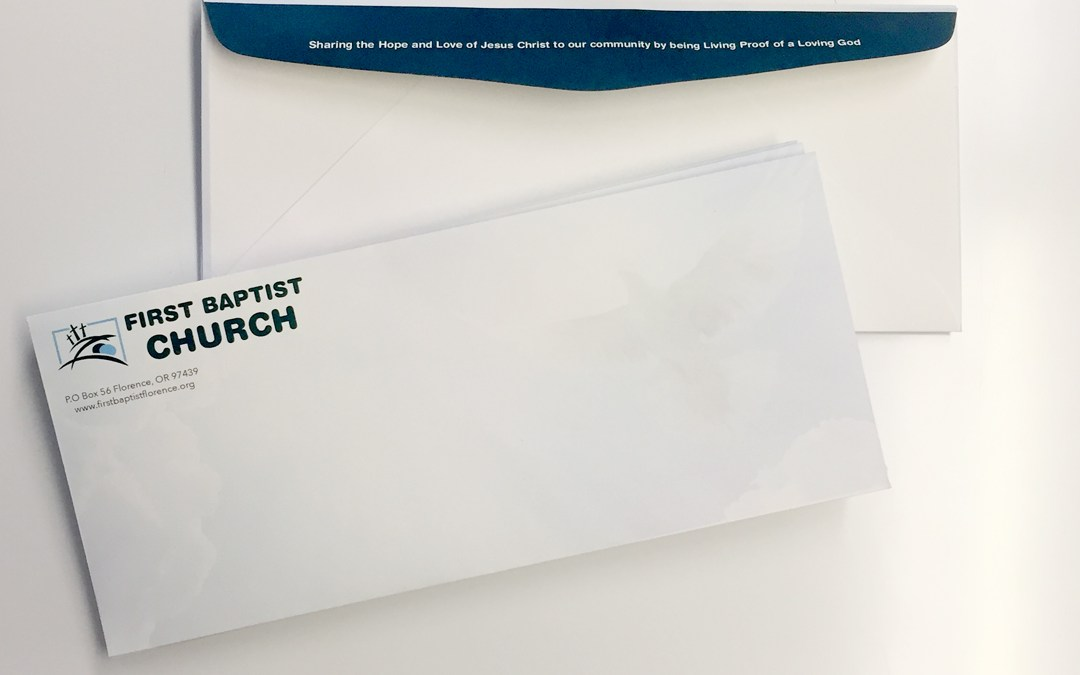 First Baptist Church – Envelopes