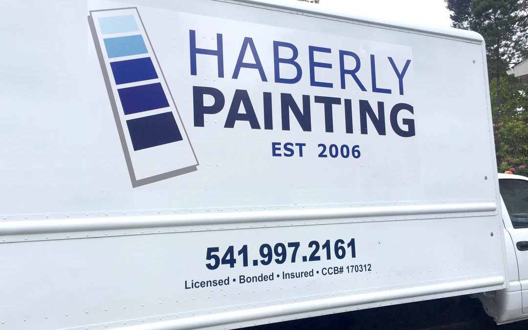 Haberly Painting – Vinyl Graphics