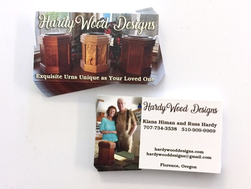 Hardy Wood Designs – Business Cards