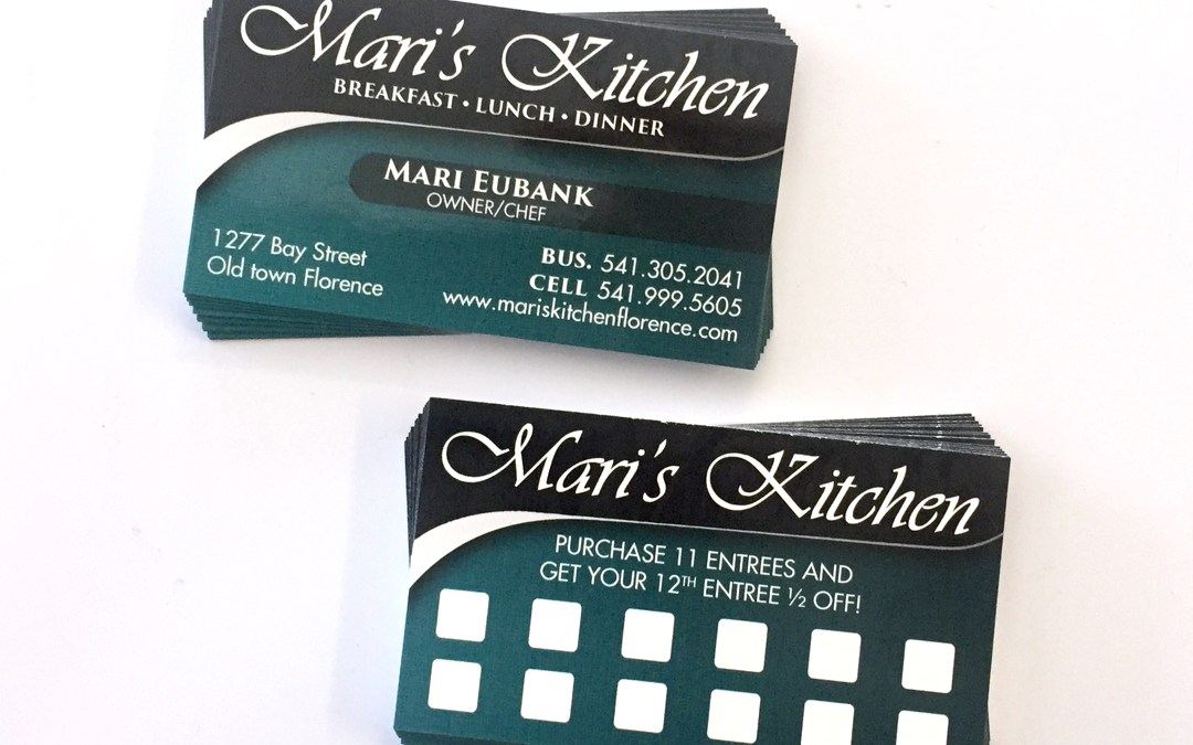 Mari's Kitchen – Business Cards