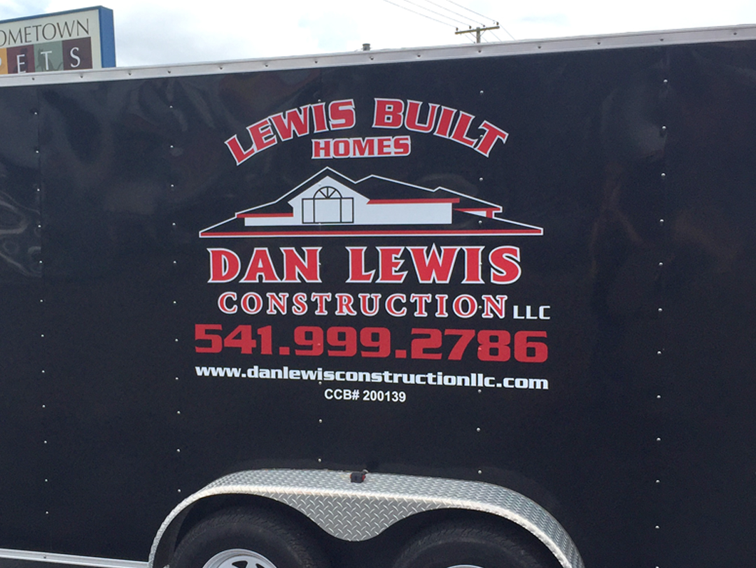 Dan Lewis Construction – Vinyl Graphics