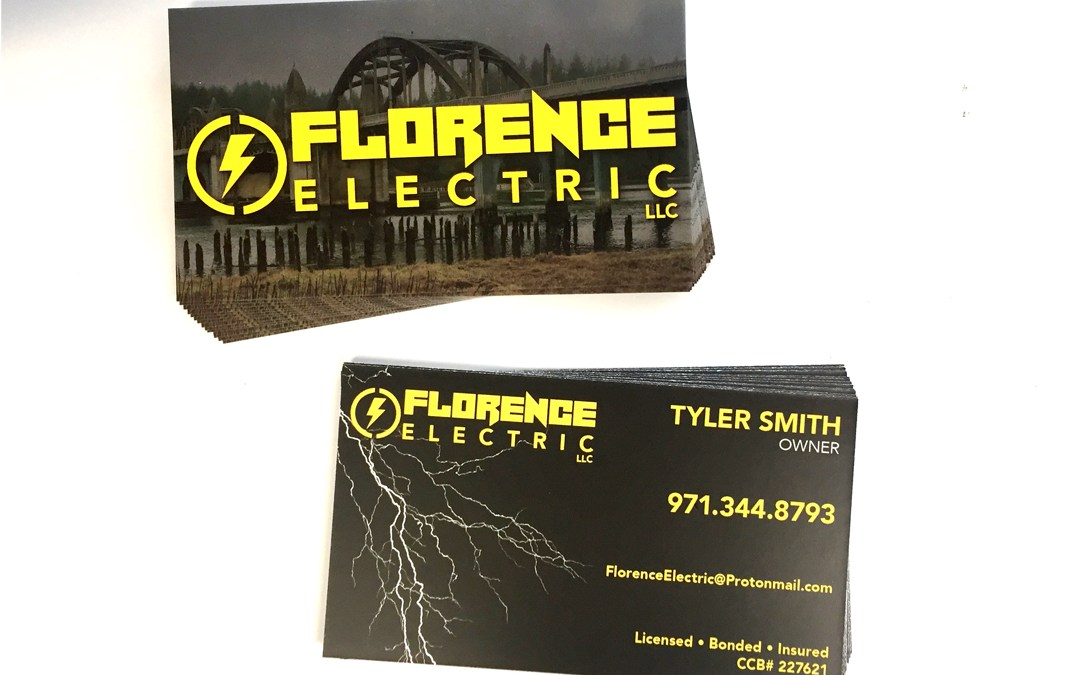Florence Electric – Business Cards