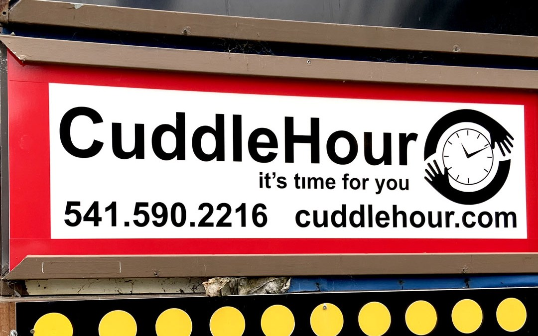 Cuddle Hour – Light Box Sign