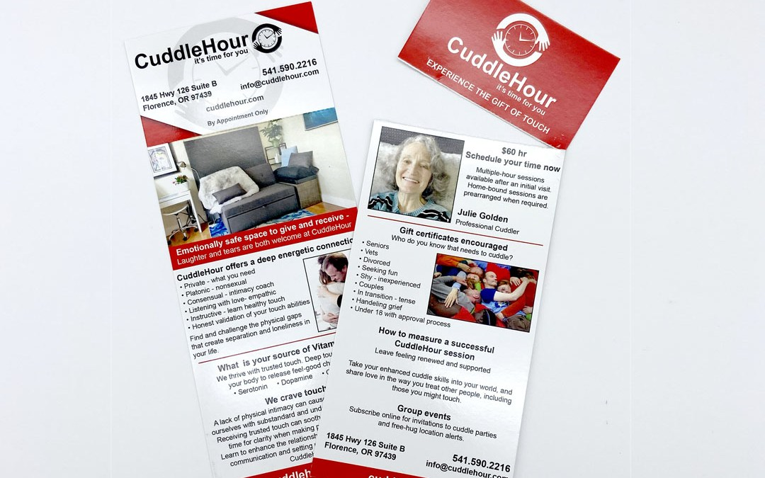 CuddleHour – Tear-off Card