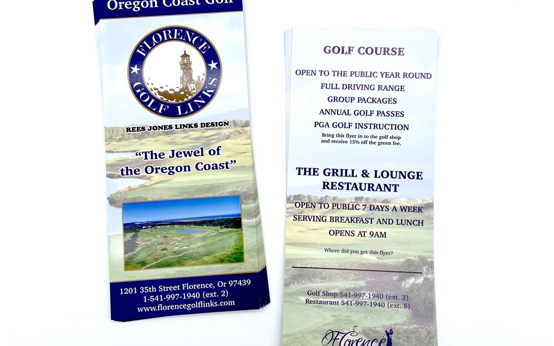 Florence Golf Links – Rack Card