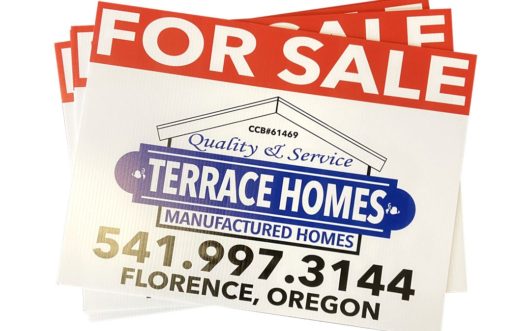 Terrace Homes – Yard Signs