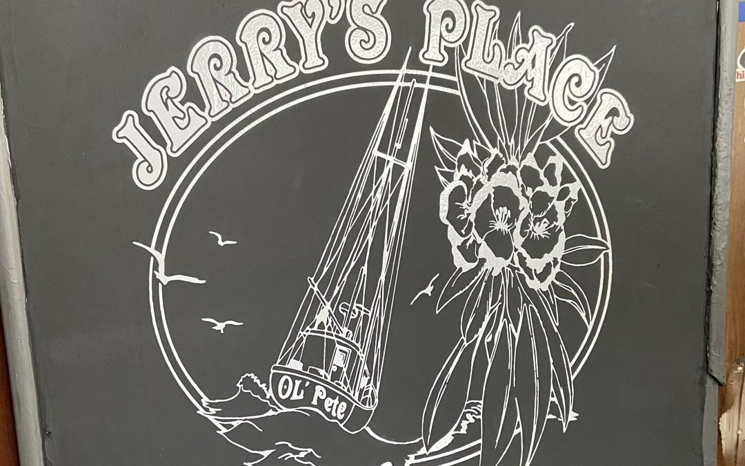 Jerrys Place – Vinyl Graphic