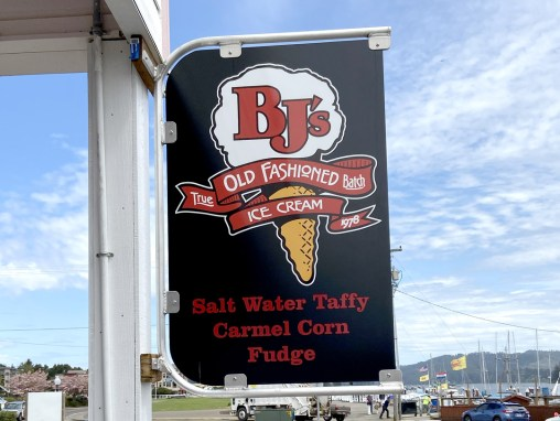 Bj's Ice Cream – Sign