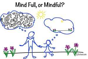 mindful mindfulness modern life distractions