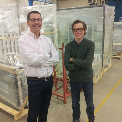 AHMM architects visit Westcoast Windows factory in Sweden