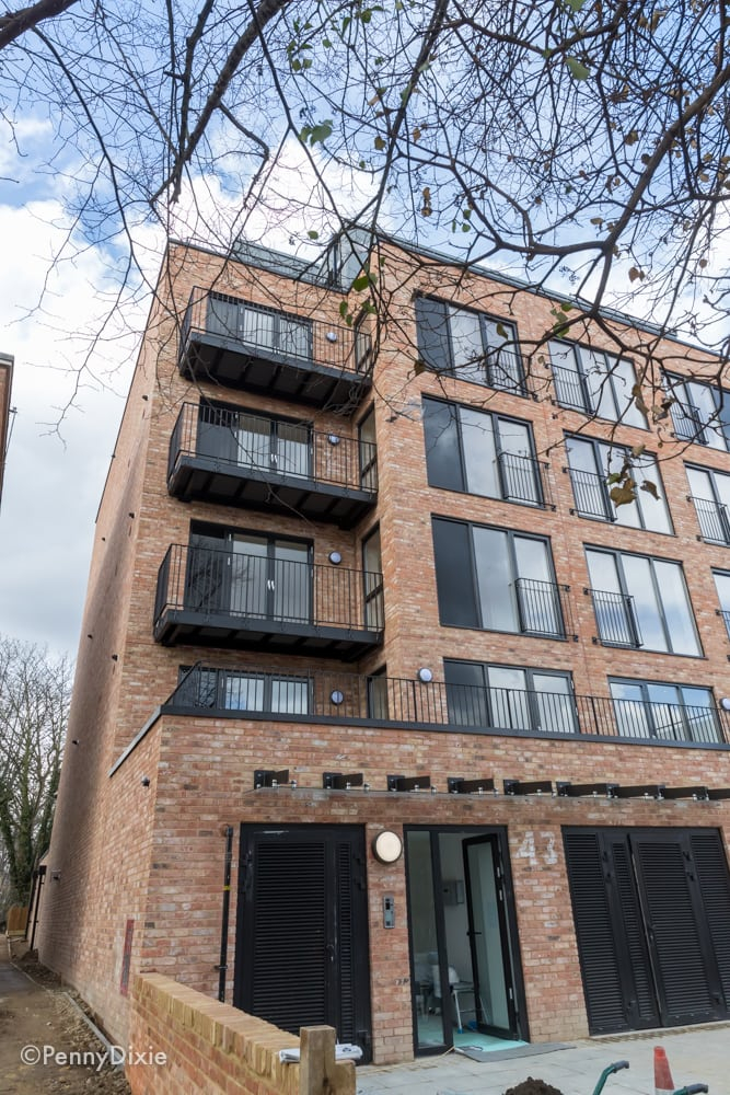 Westcoast Windows supply composite windows for 17 apartments in East London
