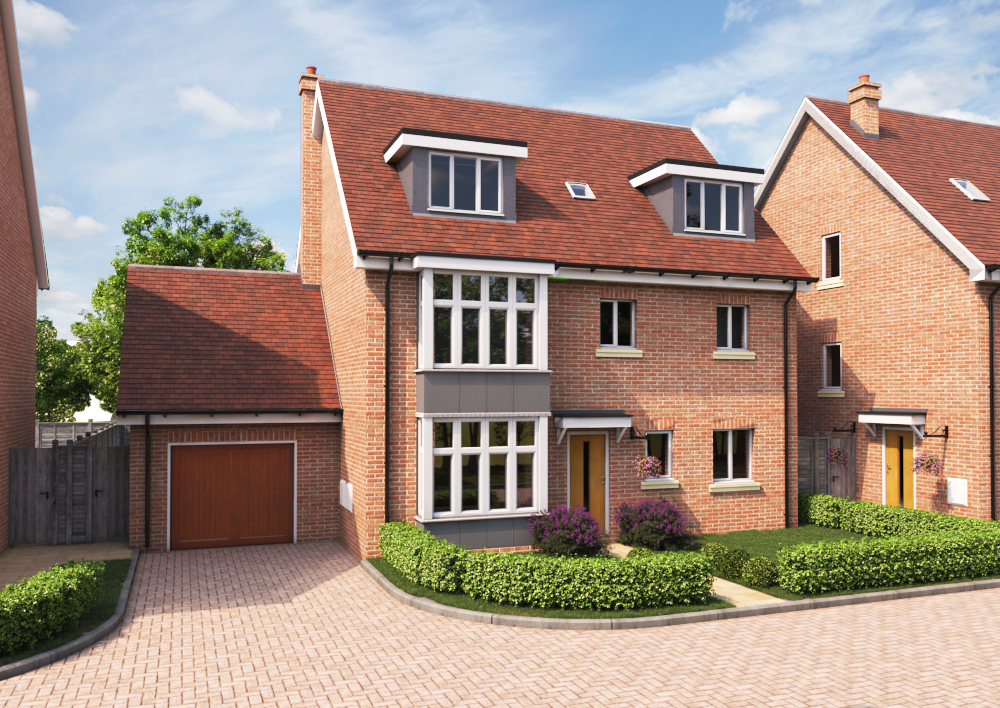 Young's Timber & Builders Merchants supply Westcoast Windows for 40 plot housing development in Folkstone