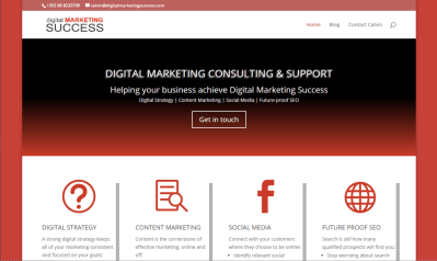 Digital Marketing Website Design