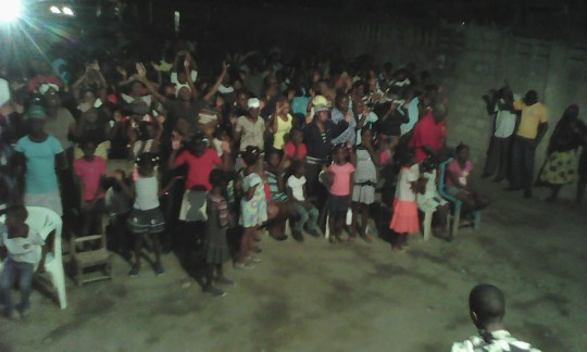 Haiti 2 16 Gospel Meetings 65 saved