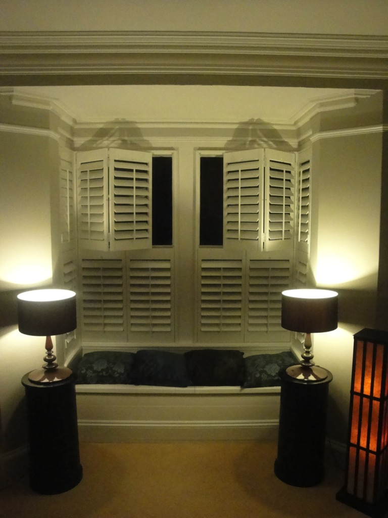 Bay Window Shutters Installation 6