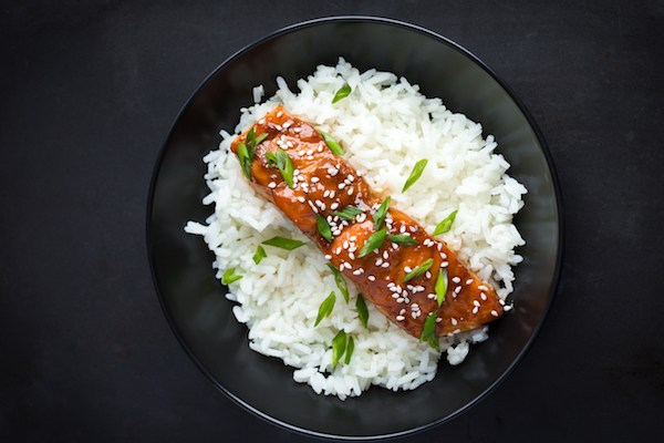 Westcountry Spice Hoisin Salmon and Rice