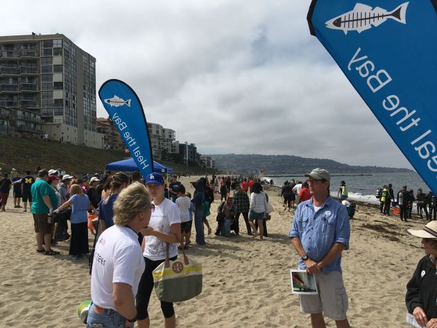 Heal the Bay Nothin but sand Redondo Beach cleanup with West Creek Media