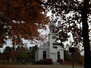 Church in Sandwich. Quintessential New England.