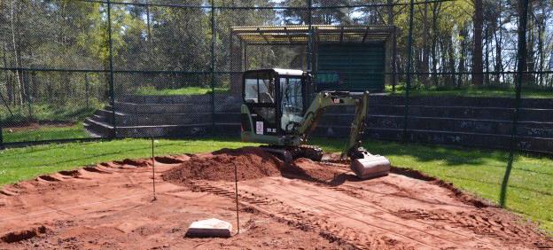 Westend 69'ers starten Platzausbau-Projekt mit der Gemeinde Holm und dem TSV Holm!
