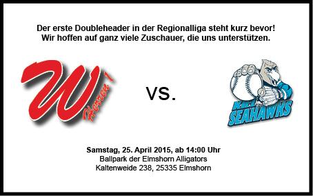 69'ers H1 vs. Kiel Seahawks (Spielbericht 25.04.2015)