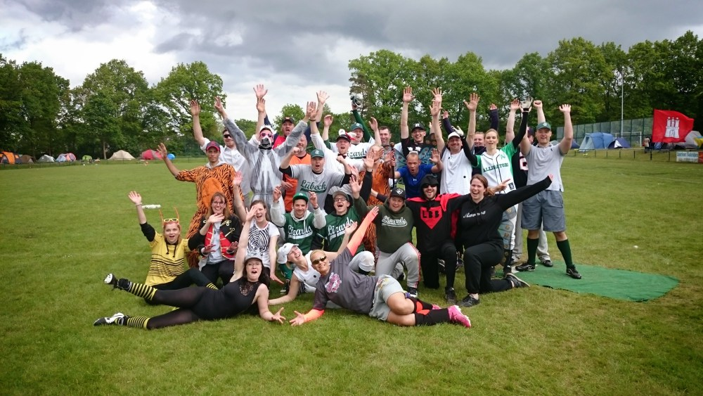 Softball Spiel um Platz 3: Berlin Flying Donkies - Lübeck Lizards