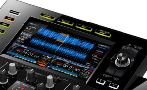 Pioneer CDJ-RX2 screen