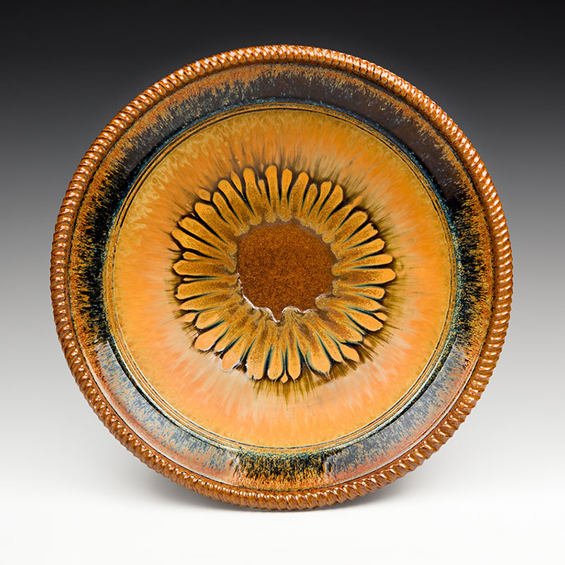 "Richard Aerni ""Rope Edge Bowl"" Inquire"