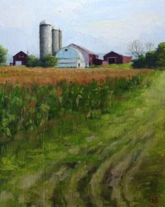 "Bibi S. Brion ""Roaring Branch Farm"" 10x8 oil $150."
