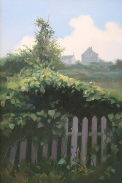 "Thomas S. Buechner ""Nantucket"" 36x24 oil $7,500."