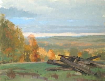 BuechnerLandscapeLappsFarmCaton - Thomas S. Buechner: Landscape