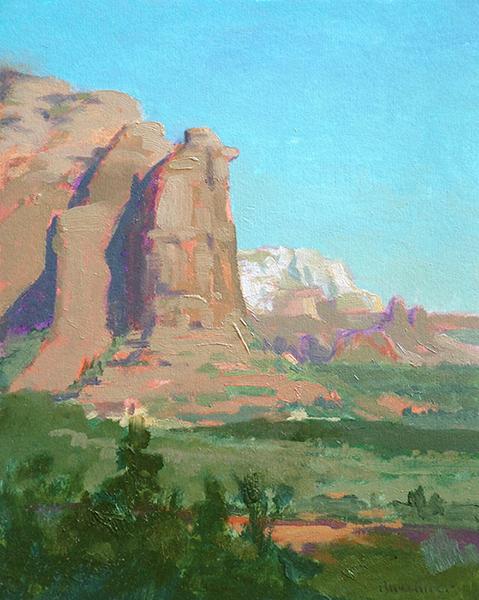BuechnerLandscapeTeapotRock - Thomas S. Buechner: Landscape