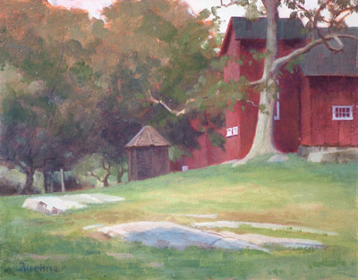"Thomas S. Buechner ""Weir Studio"" 11x14 oil $2,570."