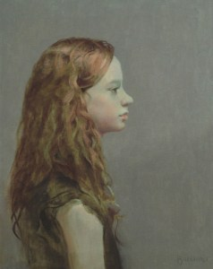 "Thomas S. Buechner ""Andrea Wood"" oil painting"