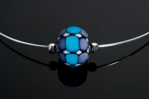 "Becky Congdon ""Mathematical Order Omega"" necklace $95. SOLD (photo by Ann Cady)"