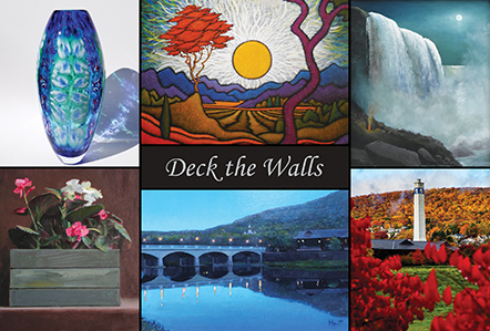 """Deck the Walls"" Holiday Group Exhibit"