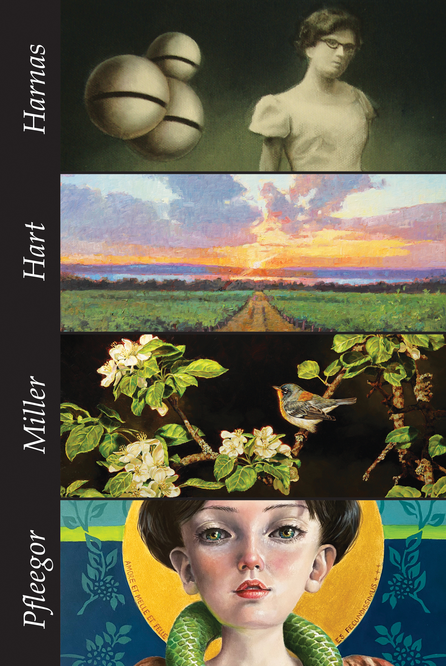 Feature HHMP FRONT Final - Current Exhibit: Spotlight featuring Edd Tokarz Harnas, Brian M. Hart, Jennifer Miller, Gina Pfleegor