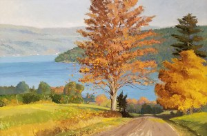 "Tom Gardner ""Autumn Breeze"" 24x36 oil $2,600."