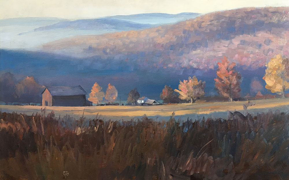 "Tom Gardner ""Dad's Place"" 20x30 oil $2,000."