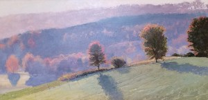"Tom Gardner ""Long Shadows"" 24x48 oil $3,400."