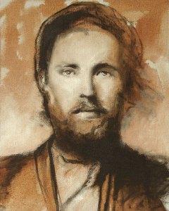 "Edd Tokarz Harnas ""The Seeker"" 10x8 oil $170."