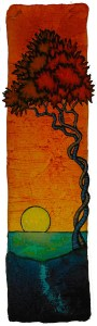 "GC Myers ""Forever Bond"" 8x2 acrylic/paper $ Inquire"