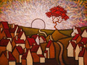 """GC Myers """"Let the New Day Begin"""" 18x24 acrylic/canvas $ Inquire"""