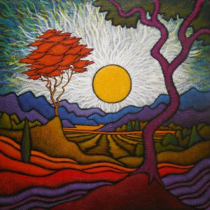 "GC Myers ""Life Pop"" 36x36 acrylic/canvas $ Inquire"