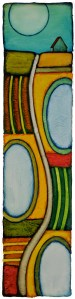 "GC Myers ""Part of the Pattern"" 22x9 acrylic/paper $Inquire"