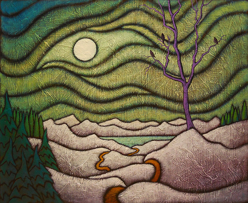 """MyersTheCoolEyeSOLD - 2021 GC Myers:<br>""""Through the Trees"""""""