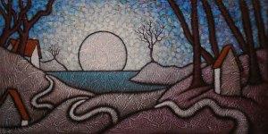 "GC Myers ""The Freshening"" 18x36 acrylic/canvas $ Inquire"