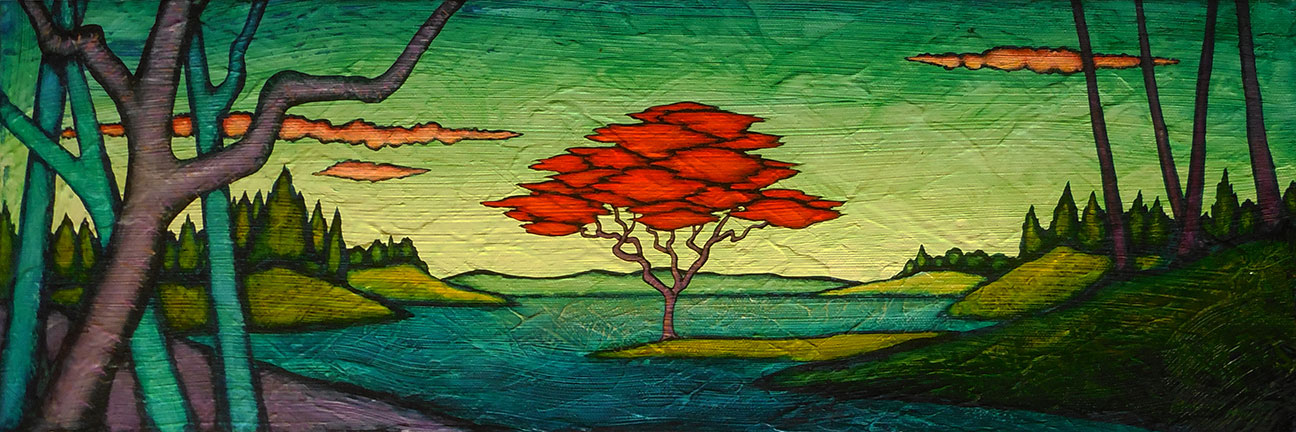 """MyersTheRefreshing - 2021 GC Myers:<br>""""Through the Trees"""""""