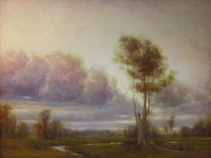 "Martin Poole ""Dreamed Tree"" 36x48 oil $6,100."