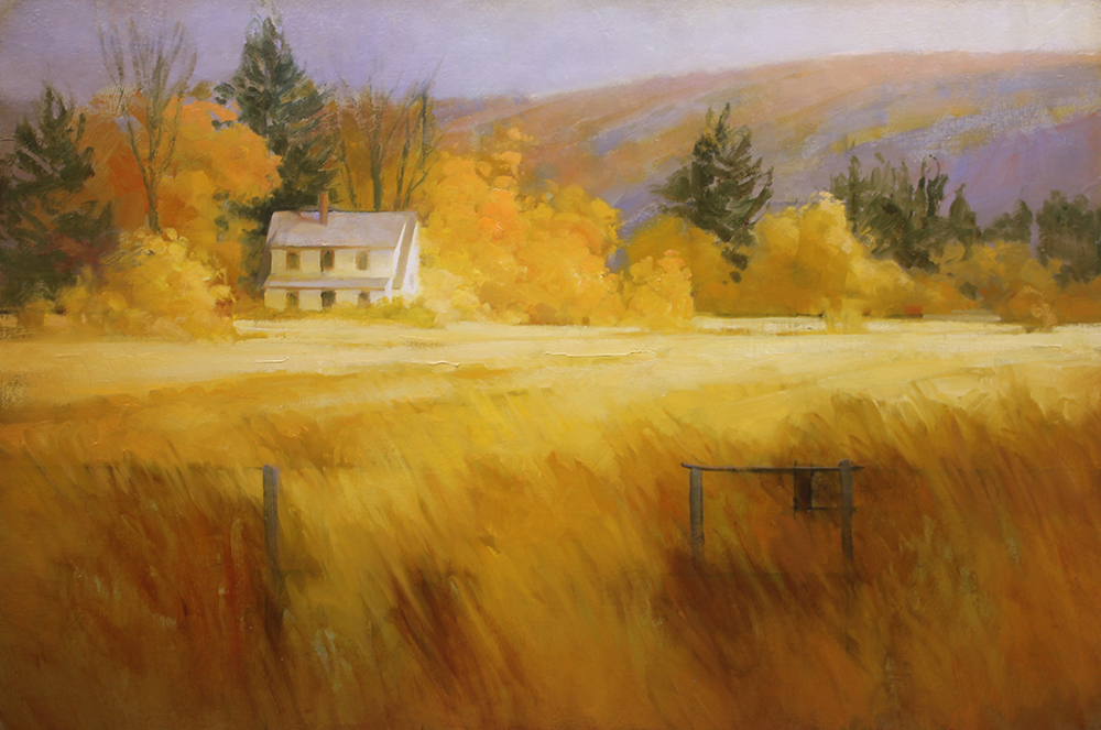 "Martin Poole ""Tom's Place"" 24x36 oil $3,520."