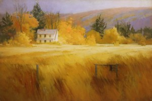 """Martin Poole """"Tom's Place"""" 24x36 oil $3,520."""